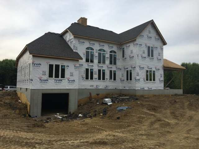 New Build Home in Granville, Ohio being build by custom home builders