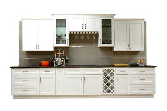 New kitchen cabinets and countertops installed in Columbus, Ohio