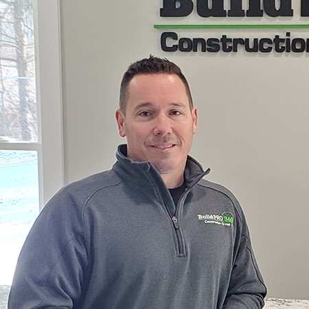 Chad Miller Build PRO 360 general contracting, new home builders, construction, roofing, glass, and cabinetry in Central Ohio
